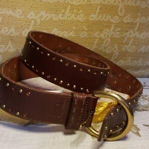 🍂Genuine Leather 'Fossil' Belt